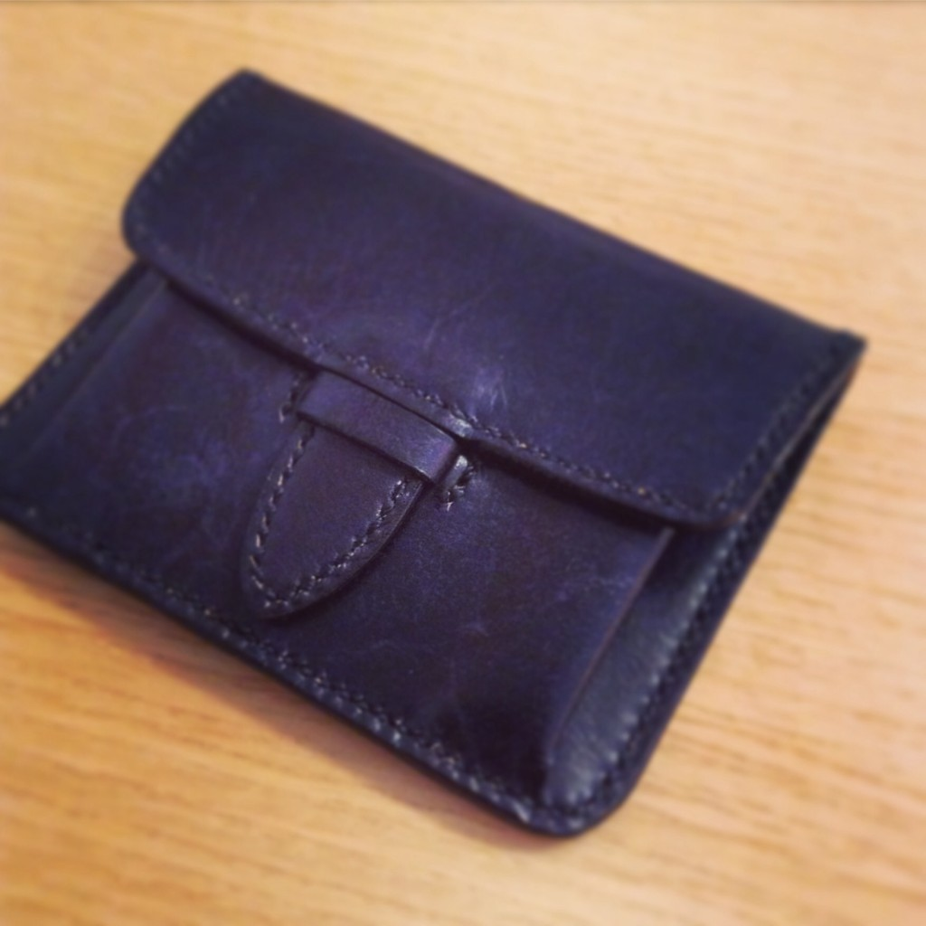 ポケット財布別注モデル総手縫い